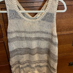 Knitted tank by Sparrow